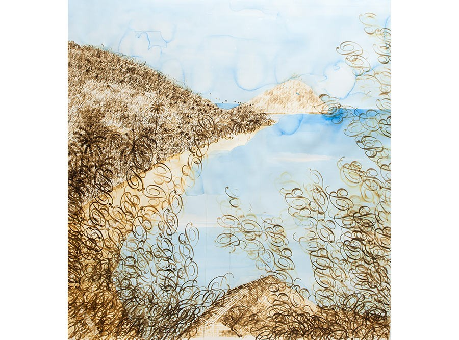 Untitled (Island I), 2012, by Stacy Lynn Waddell.