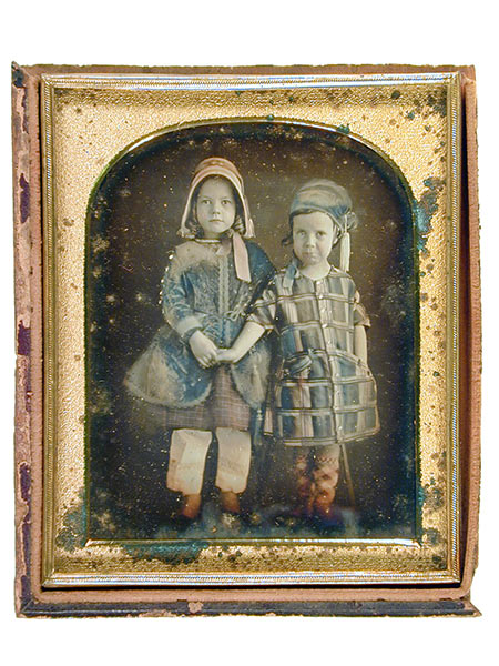 Unknown (two young children), by unknown artist
