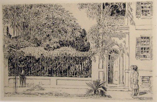 Spring in Charleston, 1925, by Childe Hassam