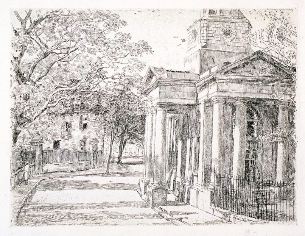 Saint Philips, Charleston, 1925, by Childe Hassam