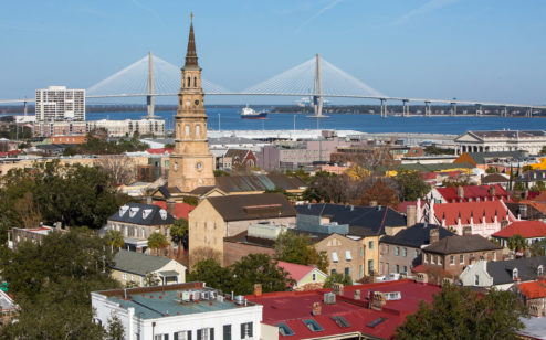 Charleston Skyline by Hunter McRae, NY Times
