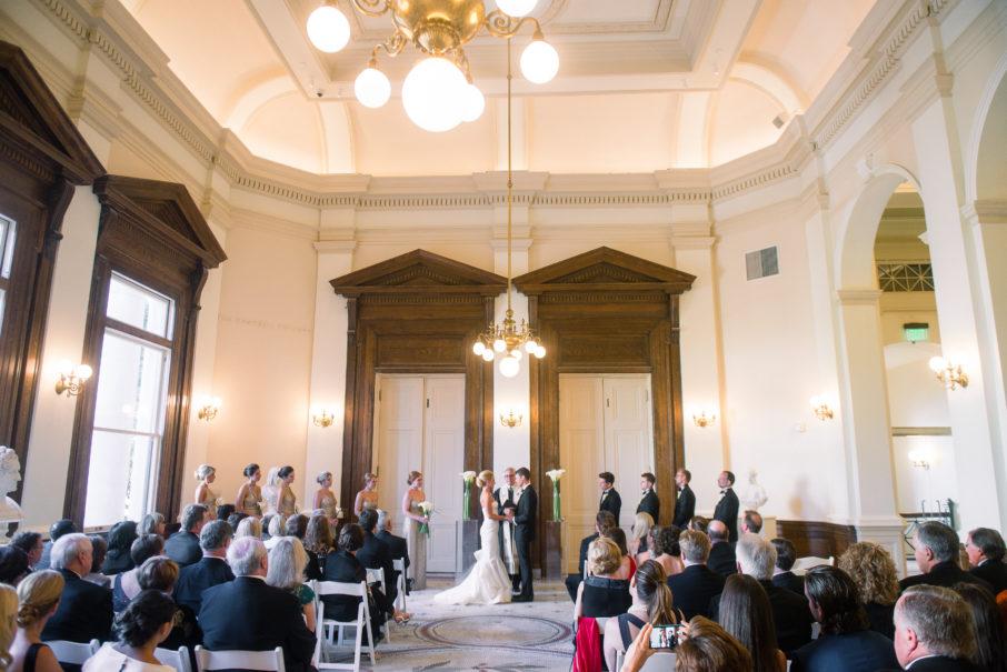 Wedding in the Campbell Rotunda