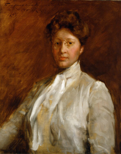 Anna Heyward Taylor, 1903, by William Merritt Chase