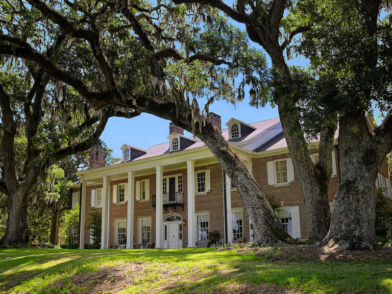Hobcaw House, built by Bernard Baruch