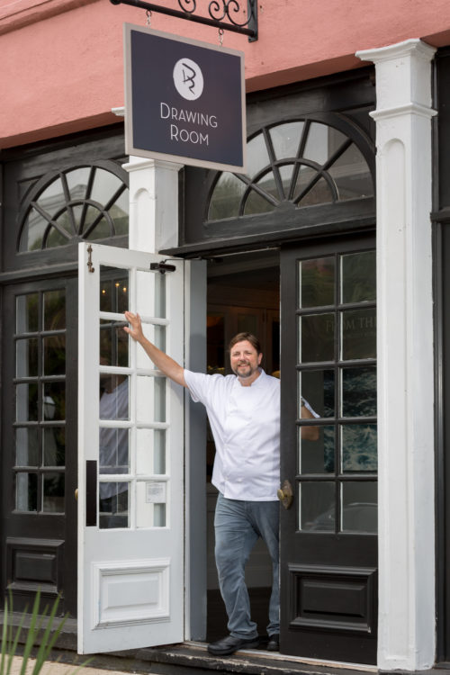 Chef Forrest Parker of The Drawing Room
