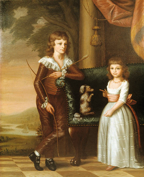 William and Eliza Charlotte (Mrs. Edward Brailsford) Moultrie, Artist Unknown