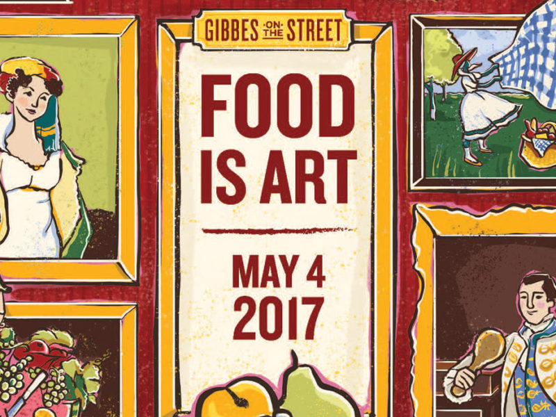 Gibbes on the Street - Food is Art