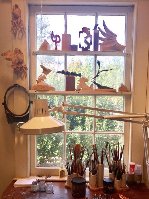 Grainger McKoy's Studio
