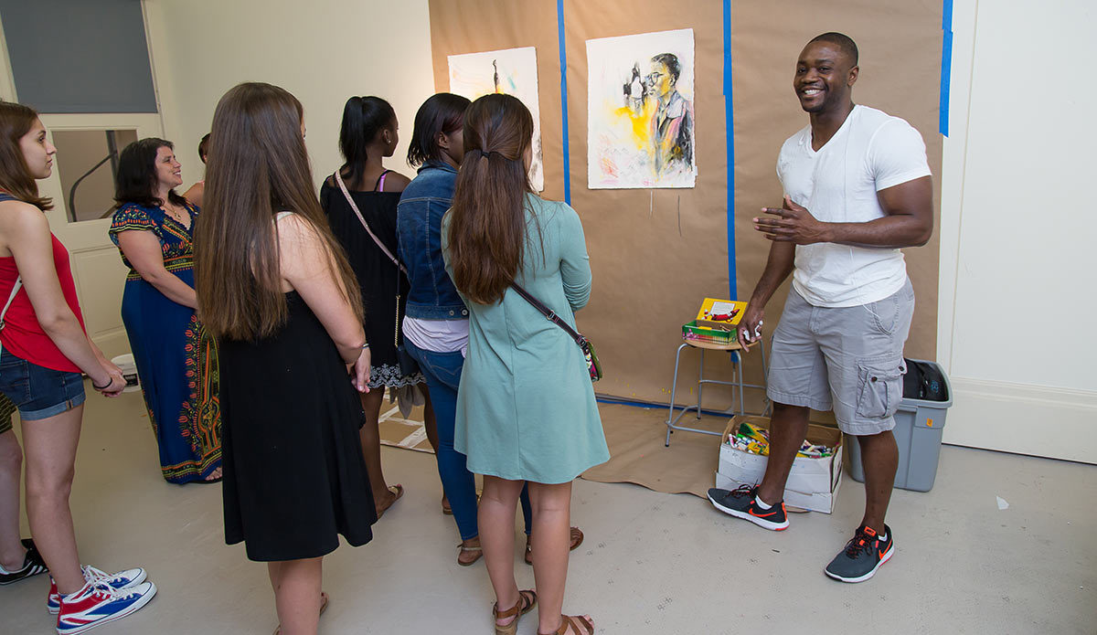 Gibbes Visiting Artist Charles Williams