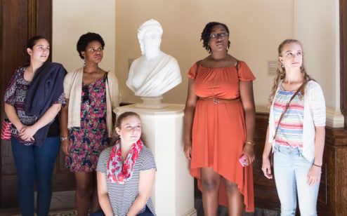 Teen Camp at the Gibbes Museum