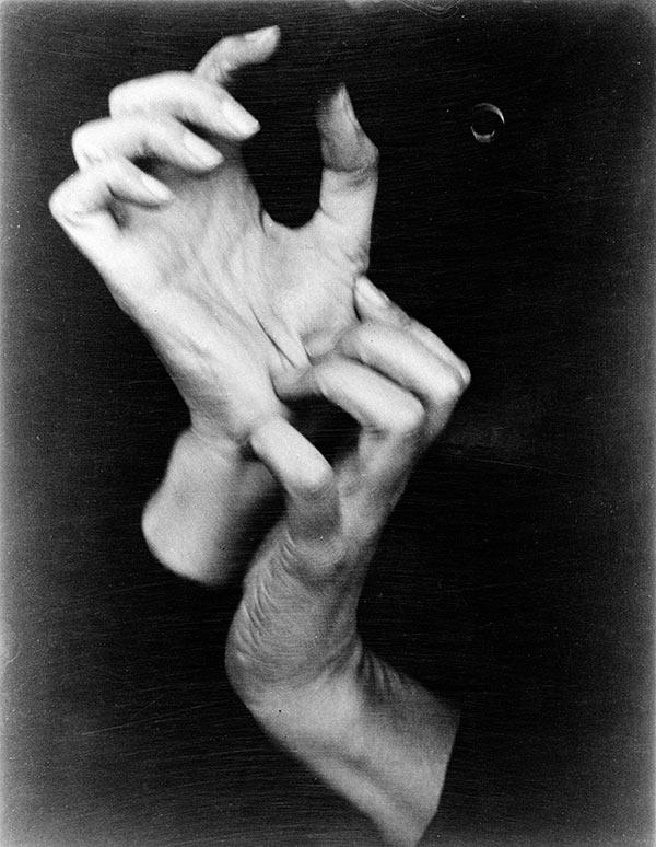 Hands of Georgia O'Keeffe - No. 26, 1919, by Alfred Stieglitz