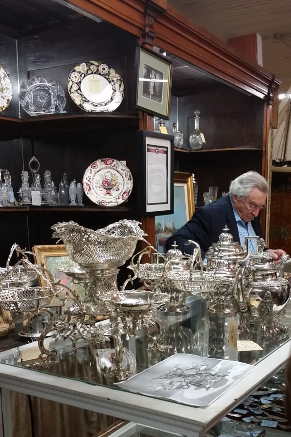 George C. Birlant & Co. presents a stunning display of silver