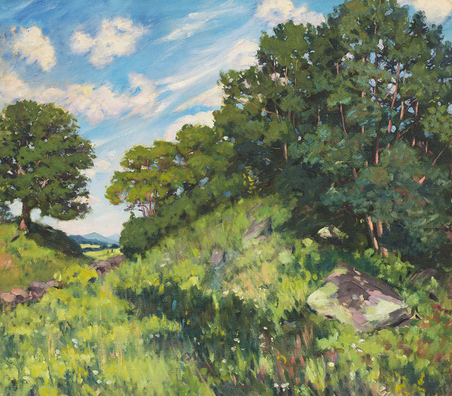 Summer Landscape, ca. 1909, by Kate Freeman Clark
