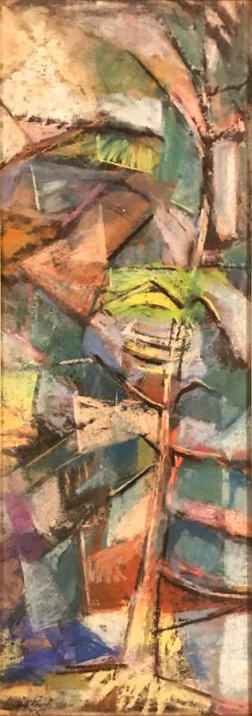 Fir Trees, 1955, by David Driskell