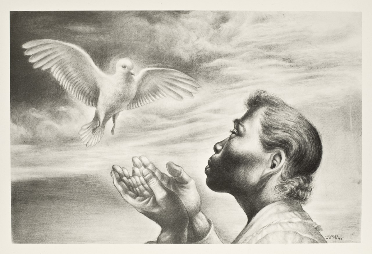 Dawn of Life, 1952, By Charles Wilbert White