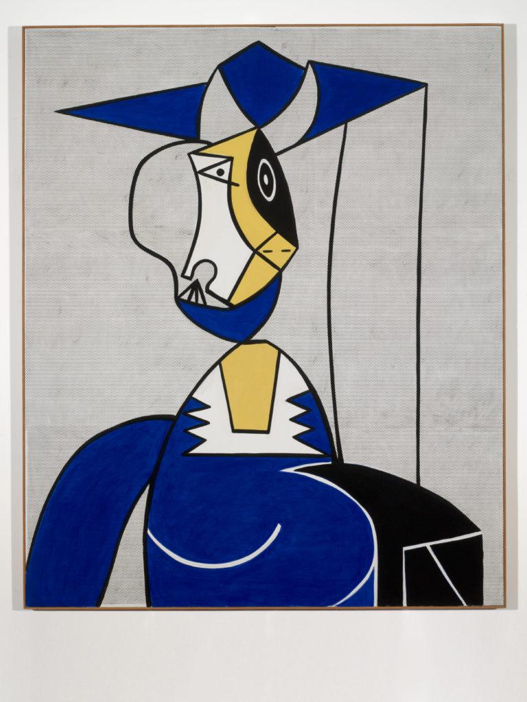 Femme au Chapeau, by Roy Lichtenstein, 1962