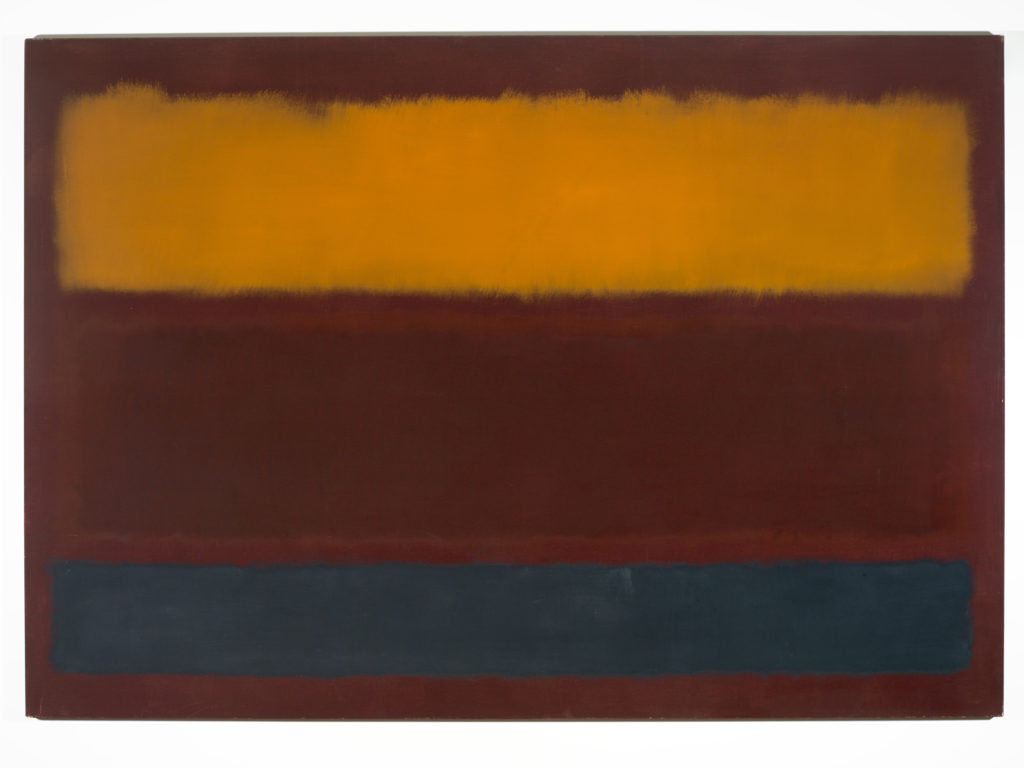 Silver Orange Plum, by Mark Rothko, 1962