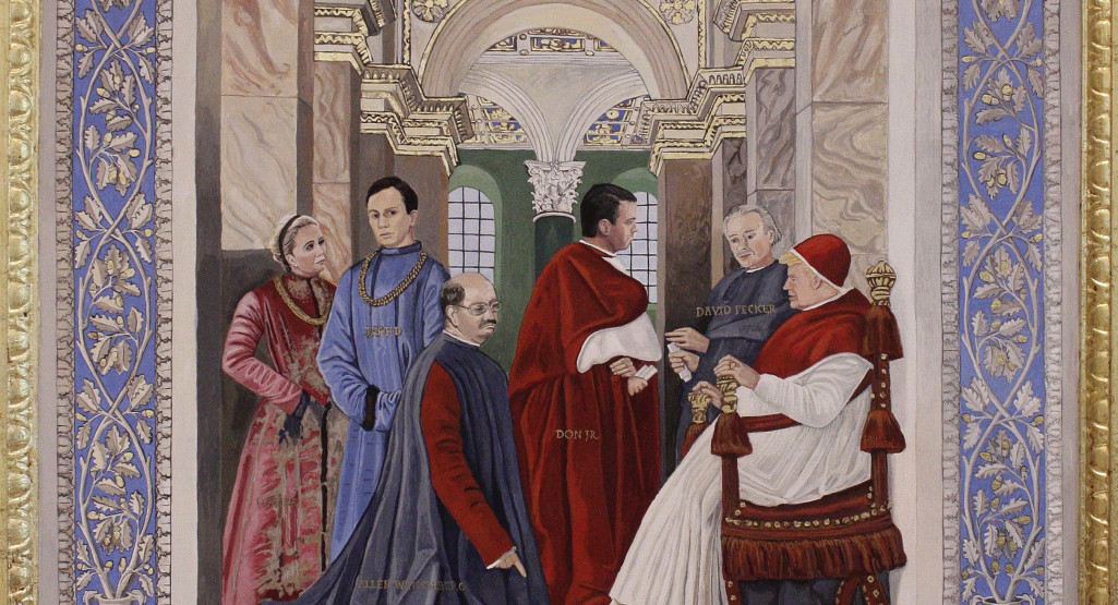 Pope Sixtus IV, after Melozzo del Forli - 2019