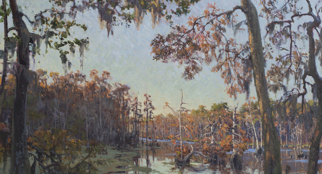 <i>Washo Reserve</i>, 2014, by West Fraser (American, b. 1955); oil on linen; 36 x 42 inches; Courtesy of Mr. and Mrs. Lloyd Pearson