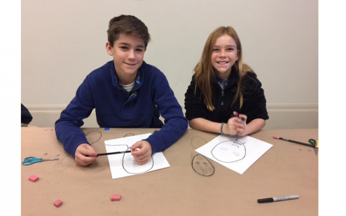 Winter Camp: Funny Faces, Ages 7-12