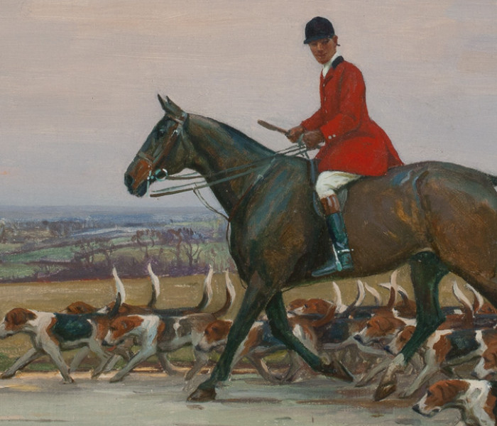 Charleston Collects: British Sporting Art from the Penkhus Collection