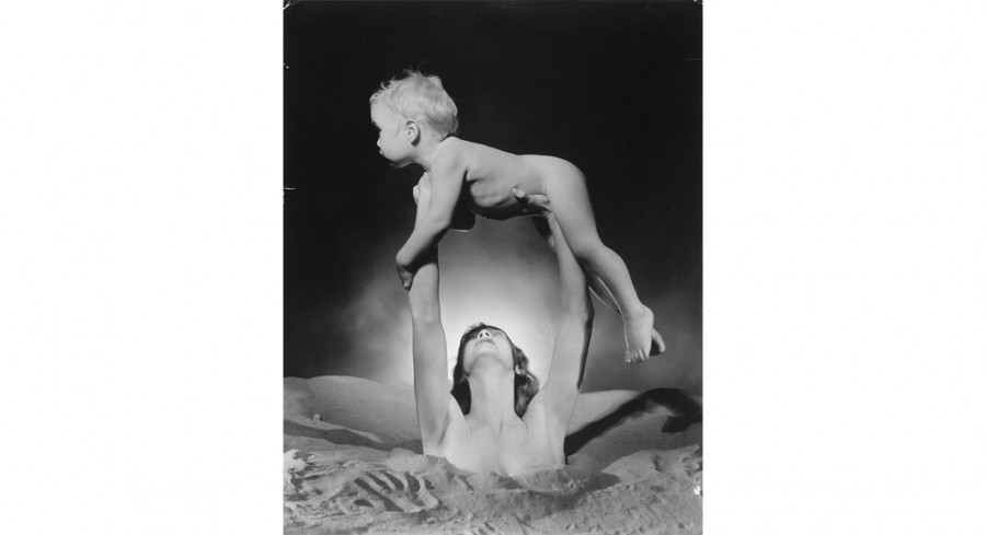 Gaea and Erechtheus, ca. 1935; By George Platt Lynes (American, 1907-1955); Gelatin silver print; Gift of Mr. Robert W. Marks; 1974.012.0105