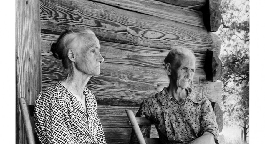 In Old Age, Lansdale, Arkansas (detail), 1937, By Margaret Bourke-White (American, 1904 - 1971); Gelatin silver print; Gift of Mr. Robert W. Marks