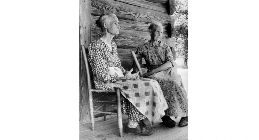 In Old Age, Lansdale, Arkansas, 1937, By Margaret Bourke-White (American, 1904 - 1971); Gelatin silver print; Gift of Mr. Robert W. Marks