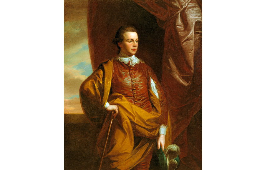 <i>Thomas Middleton of The Oaks (1753-1797)</i>, 1770, by Benjamin West (American, 1738-1820); oil on canvas; 59 x 50 inches; Gift of Alicia Hopton Middleton; 1937.005.0014