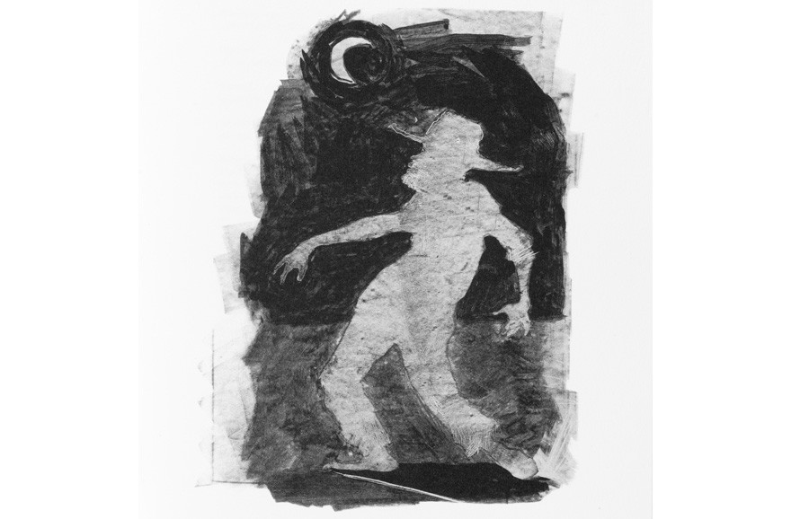 <i>Porgy and Moon</i> from <i>Porgy and Bess</i> the libretto by DuBose Heyward and Ira Gershwin, illustrated by Kara Walker (American, b. 1969), 2013; published by Arion Press; Museum purchase; 2015.005.0001