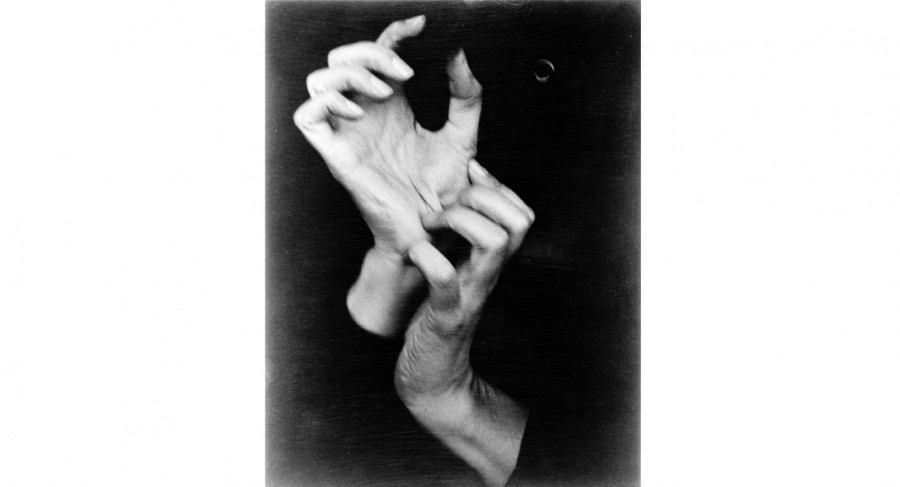 <i>Hands of Georgia O'Keeffe, no. 26</i>, 1919, By Alfred Stieglitz (American, 1864—1946); Gelatin silver print; Gift of Mr. Robert W. Marks; 1974.012.0130