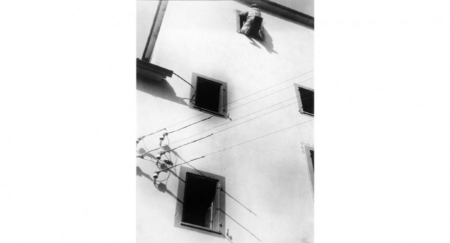 <i>Wauslwaler</i>, ca. 1925-28, by Laszlo Moholy-Nagy (Hungarian, 1895-1946); gelatin silver print; 11 1/2 x 8 1/2 inches; Gift of Mr. Robert W. Marks. © 2017 Hattula Moholy-Nagy / VG Bild-Kunst, Bonn / Artists Rights Society (ARS), New York